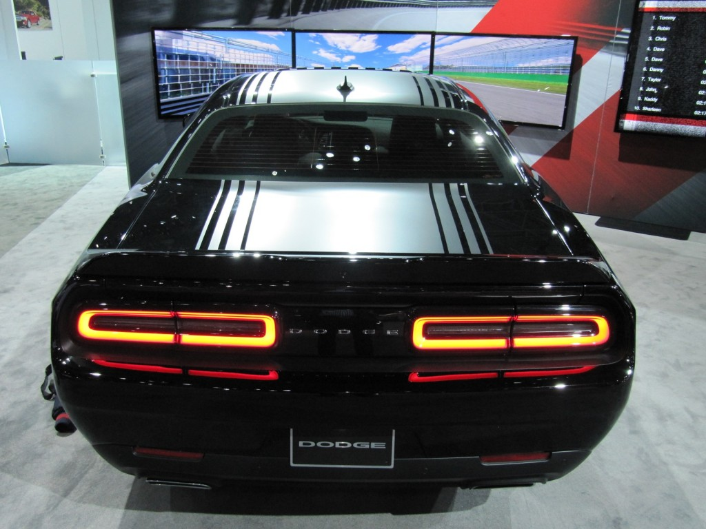 dodge challenger american muscle premiered at the fair in new york top hot cars. Black Bedroom Furniture Sets. Home Design Ideas