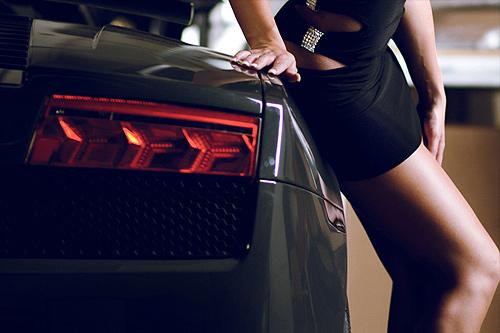 Lamborghini Girls Pics