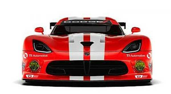 Dodge Viper GTS-R goes back to old-school livery