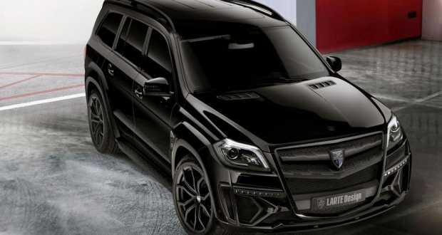 Mercedes GL Black Crystal