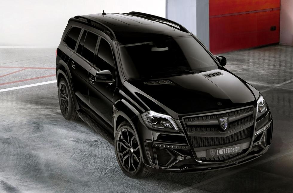 Mercedes GL Black Crystal