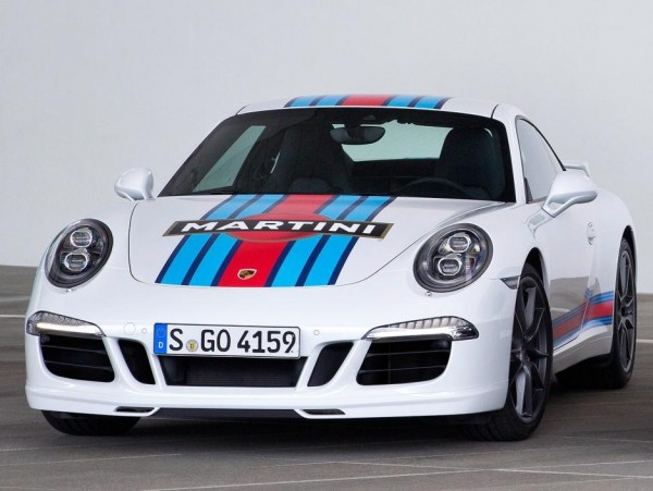 Porsche 911 S Martini Racing Editions