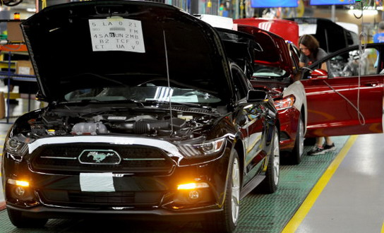 Ford Mustang Factory