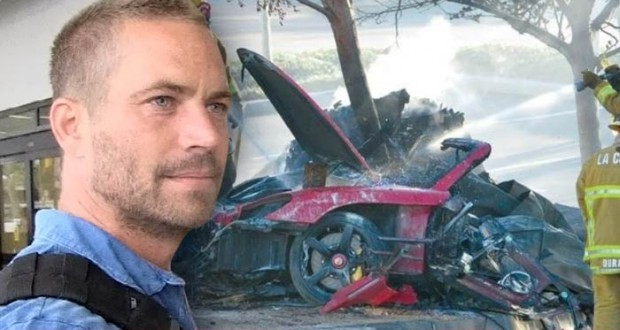 Paul Walker Car Crash - Stealing A Piece of Car