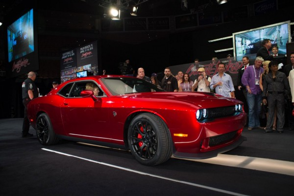 Dodge Challenger Srt Hellcat Was Sold At Auction For