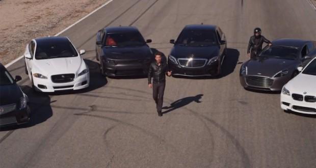 Dodge Charger SRT Hellcat vs BMW M5 vs Mercedes S65 vs ...