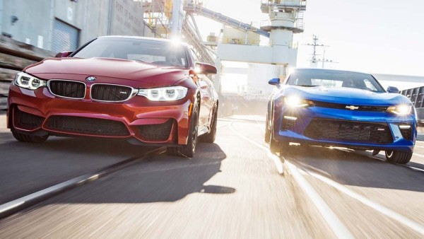 BMW vs Camaro