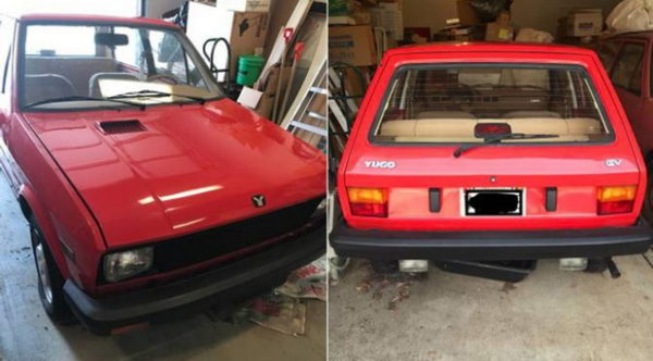 'Like new' Yugo on Craigslist Was Parked in a Garage in ...